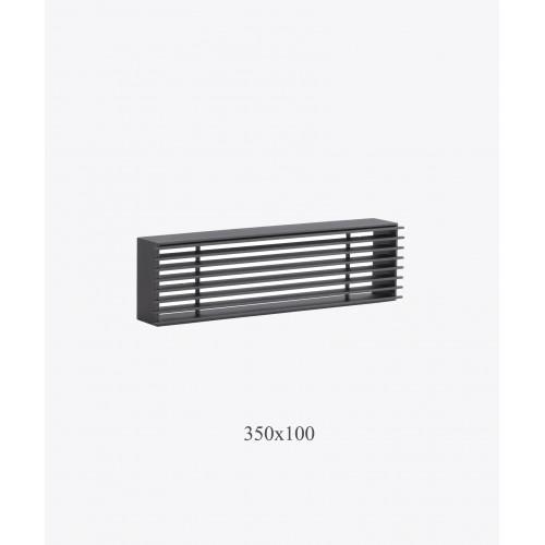 Металлическая решетка Loft, 350х100