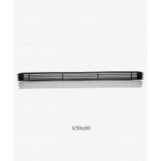Решетка металлическая Loft, 650х60