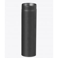 Дымоходная труба из черной стали, 1м