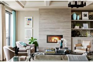 Как сделать дизайн гостиной с камином