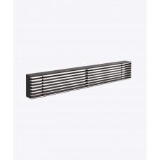 Металлическая решетка Loft /хром/, 350х60