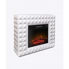 Камінокомплекти ArtiFlame DIAMOND AF23, білий бьянко