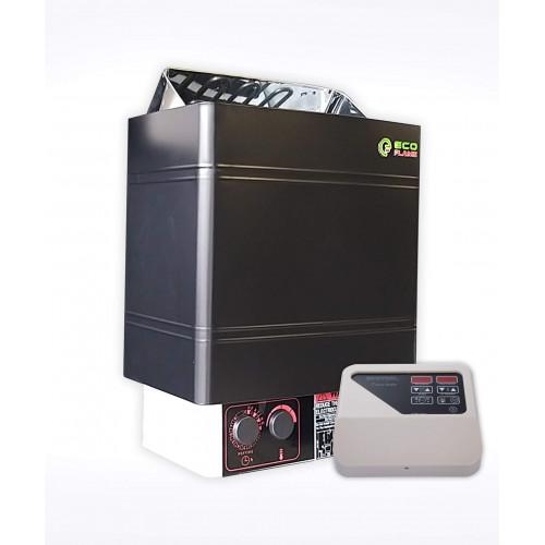 Електрокам'янка для лазні EcoFlame AMC 90-D, 9 кВт (+ пульт CON4)